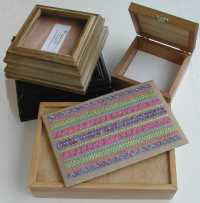 Boxes to put your embroidery in