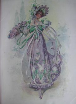 Flower costume Lilac