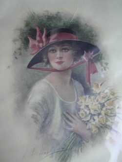 Lady with Daffodils